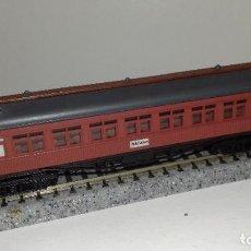 Trenes Escala: IBERTREN N PASAJEROS MZA 4 EJESL44-50(CON COMPRA DE 5 LOTES O MAS ENVÍO GRATIS). Lote 184557952
