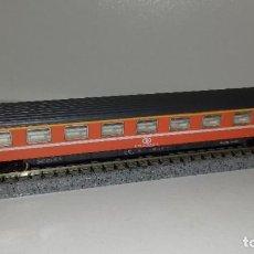 Trenes Escala: IBERTREN N PASAJEROS EUROFINA CON LUZL44-58(CON COMPRA DE 5 LOTES O MAS ENVÍO GRATIS). Lote 184720780