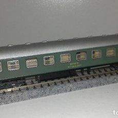 Trenes Escala: IBERTREN N PASAJEROS 2ª VERDE SERIE 8000L44-68 (CON COMPRA DE 5 LOTES O MAS ENVÍO GRATIS). Lote 185720501