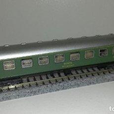Trenes Escala: IBERTREN N PASAJEROS 1ª VERDE SERIE 8000L44-69 (CON COMPRA DE 5 LOTES O MAS ENVÍO GRATIS). Lote 185720601