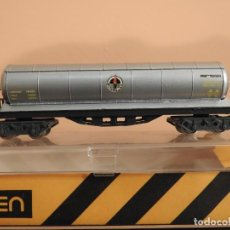 Trenes Escala: VAGÓN CISTERNA 4 EJES BUTANO - IBERTREN 362. Lote 243977790