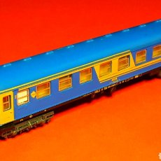 Trains Échelle: COCHE VIAJEROS 2ª CLASE 8000 RENFE *NUEVA IMAGEN* REF. 230, IBERTREN ESC. N, ORIGINAL AÑOS 80-90.. Lote 188766006