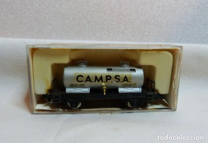 """Trenes Escala: VAGON IBERTREN N REF. 351 """"CAMPSA"""" - Foto 2 - 188832640"""