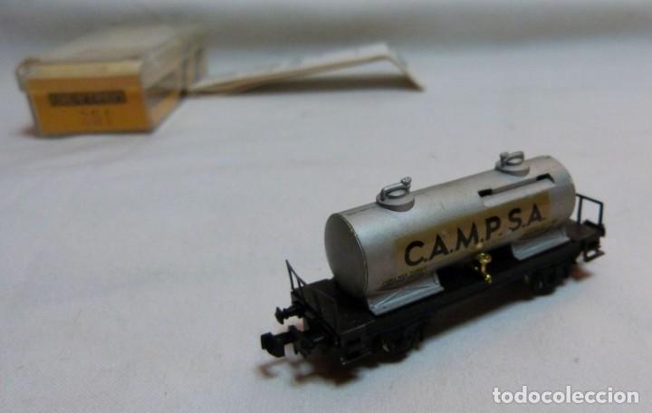 """Trenes Escala: VAGON IBERTREN N REF. 351 """"CAMPSA"""" - Foto 3 - 188832640"""