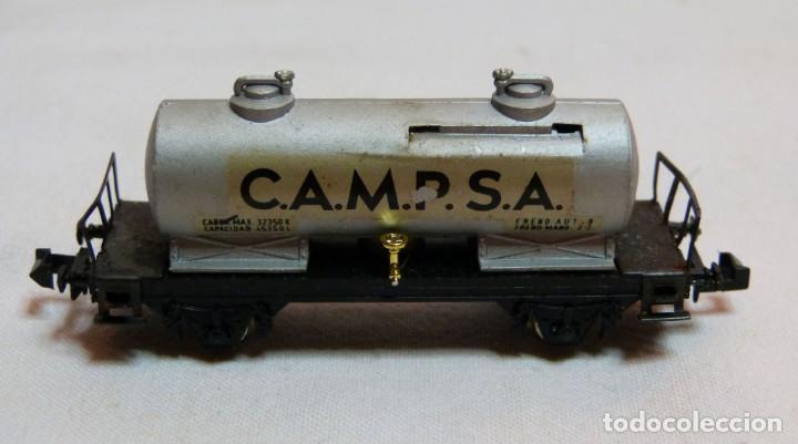 """Trenes Escala: VAGON IBERTREN N REF. 351 """"CAMPSA"""" - Foto 4 - 188832640"""