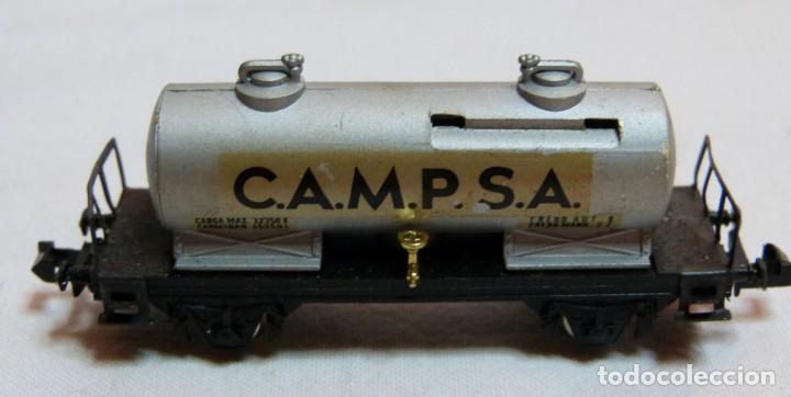 """Trenes Escala: VAGON IBERTREN N REF. 351 """"CAMPSA"""" - Foto 5 - 188832640"""