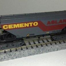 Trenes Escala: IBERTREN N TOLVA CEMENTOS L44- 170 (CON COMPRA DE 5 LOTES O MAS ENVÍO GRATIS). Lote 184031948