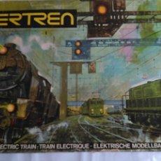 Trenes Escala: IBERTREN 3N EQUIPO COMPLETO REF 151, CON 2 TRENES COMPLETOS. FUNCIONA TODO. BUEN ESTADO GENERAL. Lote 189580617