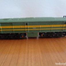 Trenes Escala: LOCOMOTORA DIESEL ALCO DE RENFE REF. 012 DE IBERTREN. ESCALA N. FUNCIONAMIENTO NO COMPROBADO.. Lote 189706508