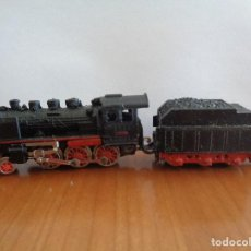 Trenes Escala: LOCOMOTORAA VAPOR F. F. A. CON TENDER REF. 013 DE IBERTREN. ESCALA N. FUNCIONAMIENTO NO COMPROBADO.. Lote 189706895