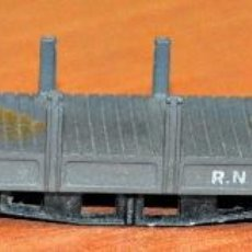 Trains Échelle: PLATAFORMA TELEROS 4 EJES GRIS DE IBERTREN, REFS. 433 Y 440. ESCALA N.. Lote 191453103