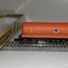 Trenes Escala: IBERTREN N CISTERNA BUTANO 4 EJES REF 361 L44-212 (CON COMPRA DE 5 LOTES O MAS ENVÍO GRATIS). Lote 191815046