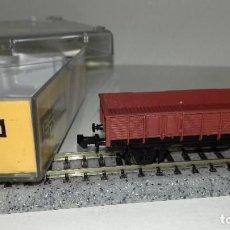 Trenes Escala: IBERTREN N BORDE ALTO 2 EJES REF 321 L44-216 (CON COMPRA DE 5 LOTES O MAS ENVÍO GRATIS). Lote 191815527