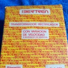 Trenes Escala: IBERTREN TRANSFORMADOR Y RECTIFICADOR.REF 691. Lote 193882500