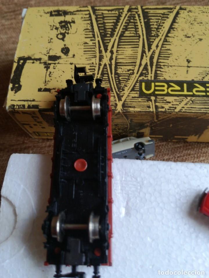 Trenes Escala: Vagon borde bajo con coches ref 3102/M - Foto 2 - 193884378
