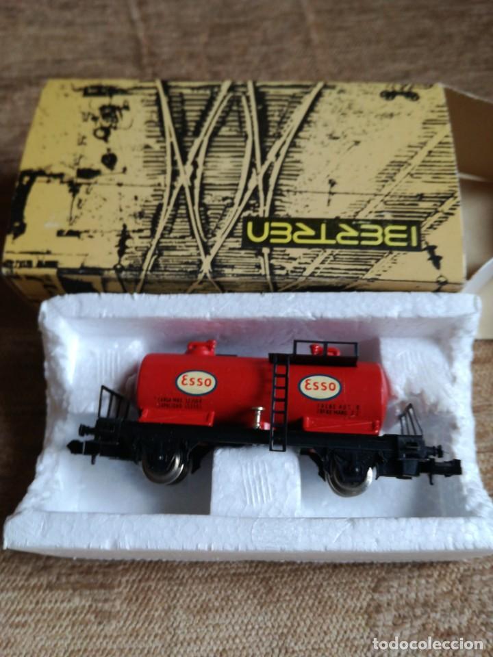 VAGON CISTERNA «ESSO» REF 3403 (Juguetes - Trenes a escala N - Ibertren N)