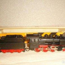 Trenes Escala: LOCOMOTORA IBERTREN 3N REF. 013 Y DESVIO 3N NUEVO. Lote 193956030