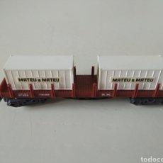Comboios Escala: MATEU&MATEU TELEROS 4 EJES REF. 431. Lote 194178435