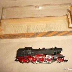 Trenes Escala: LOCOMOTORA IBERTREN 3N REF.017 Y DESVIO 3N NUEVO. Lote 244457685