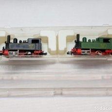 Trenes Escala: IBERTREN MAQUINAS A VAPOR REF.020 0262 EN BLISTER MUY DIFICIL. Lote 194990070