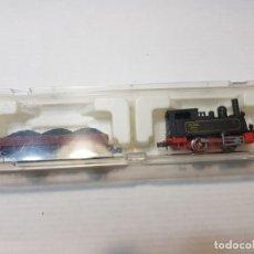 Trenes Escala: IBERTREN ESCALA N LOCOMOTORA VAPOR 020-0262 EN CAJA ORIGINAL . Lote 195017560