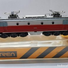 Trenes Escala: IBERTREN LOCOMOTORA ELÉCTRICA ESCALA N RENFE 7671 EN BLISTER. Lote 195040841