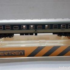 Trenes Escala: IBERTREN VAGON FRANFURT 4 EJES ESCALA N EN BLISTER . Lote 195132448