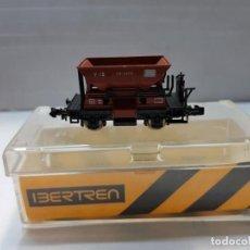 Trenes Escala: IBERTREN VAGONETA MINAS (M) ESCALA N EN BLISTER . Lote 195142325