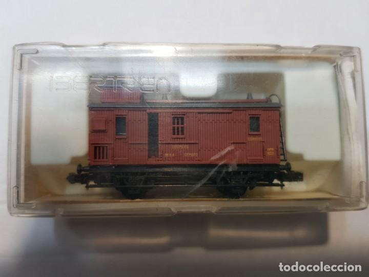 IBERTREN FURGON MZA (M) ESCALA N EN BLISTER (Juguetes - Trenes a escala N - Ibertren N)