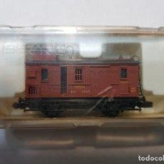 Trenes Escala: IBERTREN FURGON MZA (M) ESCALA N EN BLISTER. Lote 195143706