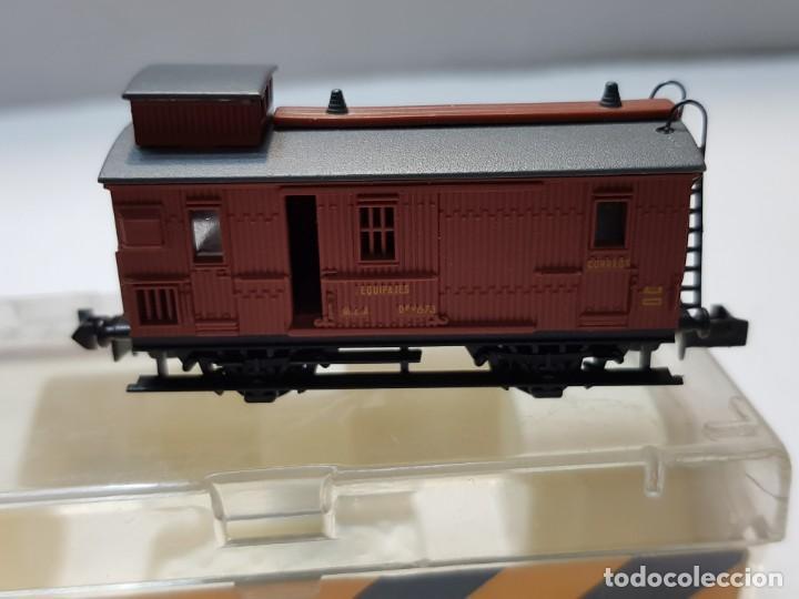 Trenes Escala: Ibertren Furgon MZA (M) escala N en blister - Foto 2 - 195143706