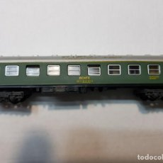 Trenes Escala: IBERTREN VAGON 4 EJES RENFE BARCELONA-MADRID ESCALA N . Lote 195144495
