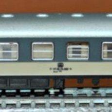 Comboios Escala: COCHE DE VIAJEROS 4 EJES 2ª CLASE AZUL-GRIS DE LA DB, DE IBERTREN, REF. 220. ESCALA N. Lote 195423446