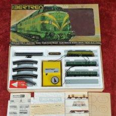 Trenes Escala: IBERTREN REF. 102. ESCALA 3N. COMPLETO. MODEL IBER. ESPAÑA. CIRCA 1970. . Lote 196569322