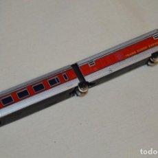 Trenes Escala: REPUESTO IBERTREN N / 2N - TALGO / FURGÓN COLA Y COCHE VIAJEROS 1ª - ¡MIRA FOTOS Y DETALLES!. Lote 196981666
