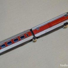 Trenes Escala: REPUESTO IBERTREN N / 2N - TALGO / FURGÓN COLA Y COCHE VIAJEROS 2ª - ¡MIRA FOTOS Y DETALLES!. Lote 196982328