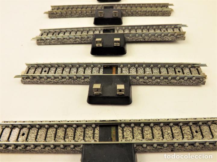 Trenes Escala: Ibertren vía conexión balasto gris (5 unidades) 3N - Foto 2 - 196983858