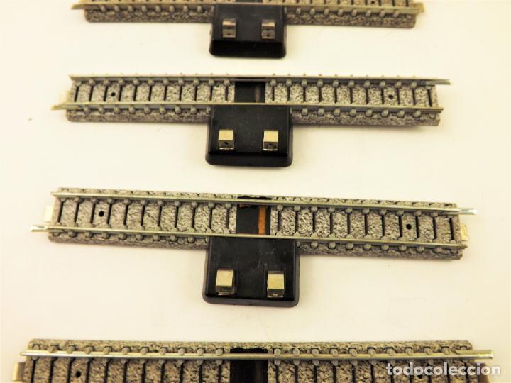 Trenes Escala: Ibertren vía conexión balasto gris (5 unidades) 3N - Foto 3 - 196983858