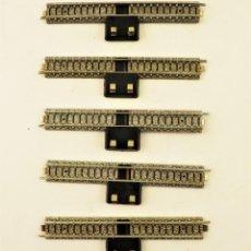 Trenes Escala: IBERTREN VÍA CONEXIÓN BALASTO GRIS (5 UNIDADES) 3N. Lote 196983858