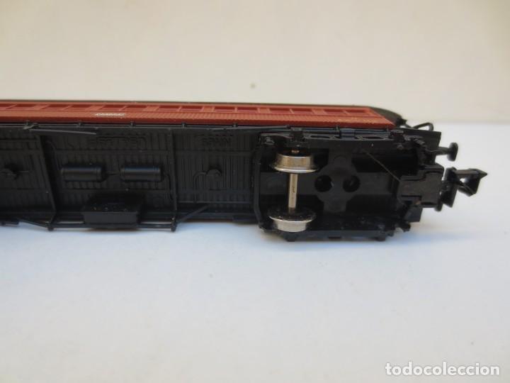 Trenes Escala: LOCOMOTORA VAPOR DB 66002 + VAGÓN PASAJEROS MATARÓ + VAGÓN EQUIPAJE Y CORREOS. ESC. N IBERTREN - Foto 8 - 197075417