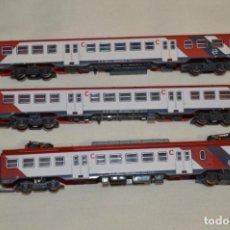 Trenes Escala: UNIDAD UT S 440 / RENFE CERCANÍAS ROJA - REFERENCIA 6194 - IBERTREN N / 2N - AÑOS 90 - ¡MIRA FOTOS!. Lote 197583887