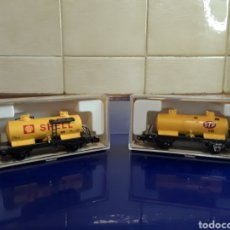 Trenes Escala: LOTE DE 2 CISTERNAS DE IBERTREN ESCALA N. Lote 199232160