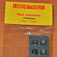 Trenes Escala: BOLSA CON UNA PLACA DE CONEXIONES DE IBERTREN, REF. 709, ESCALA N. NUEVA DE JUGUETERÍA.. Lote 201338852