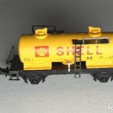 Trenes Escala: IBERTREN - N . CISTERNA SHELL. NUEVO.. Lote 201920398