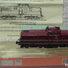 Trenes Escala: IBERTREN - 2N. LOCOMOTORA DIESEL -BR280 CON SILENCIADOR REFª 6990. C / LUZ.. Lote 201950427