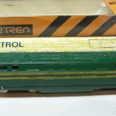 Comboios Escala: IBERTREN - 3N. LOCOMOTORA DIESEL -B.B. VERDE. Lote 201951171