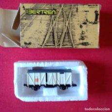 Trenes Escala: IBERTREN MATERIAL MOVIL 1973. VAGON MERCANCIAS CERRADO BLANCO FRIO REF 3301 G. ESCALA N. Lote 203028103