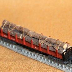 Trenes Escala: VAGON CON TRONCOS. IBERTREN ESCALA N. CON CAJA ORIGINAL. 3613/M. Lote 203201306