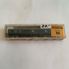 Trenes Escala: IBERTREN VAGON N RENFE AZUL FURGON. Lote 203243131