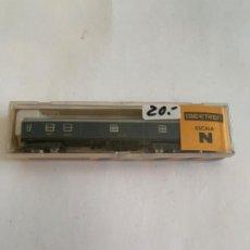 Trenes Escala: IBERTREN VAGON N RENFE AZUL FURGON. Lote 203243185